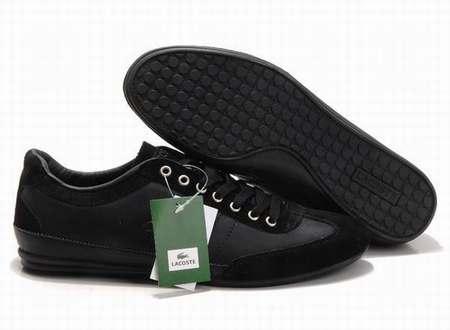 Chaussures De Sport Diplômé Faible Lacoste Noir QwIXYrB8p