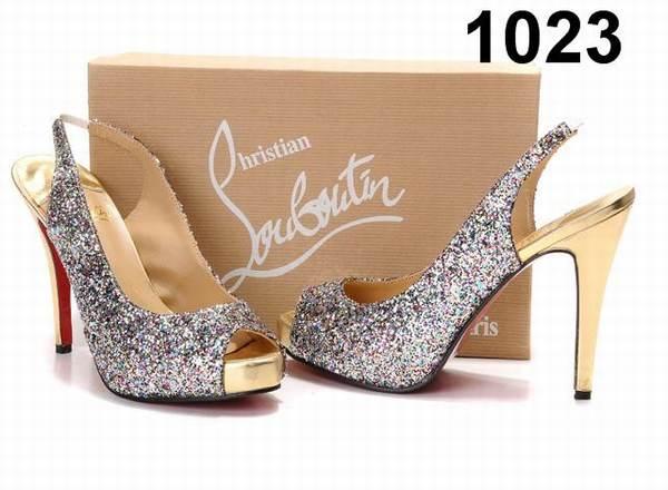 chaussure louboutin femme en solde
