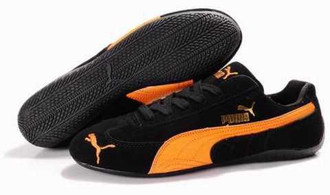 basket puma noire homme