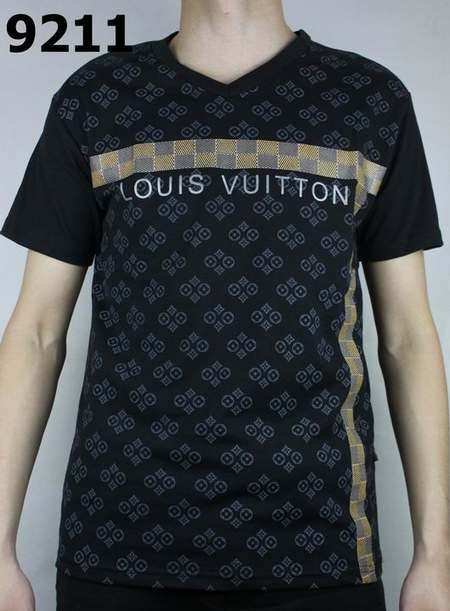 t shirt louis vuitton a prix reduit faux t shirt louis. Black Bedroom Furniture Sets. Home Design Ideas